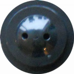 Black base with 2 holes.